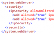 Windows Azure Web Site (14) Azure Web Site IP白名单